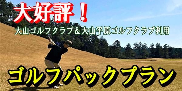 大好評!ゴルフパックプラン