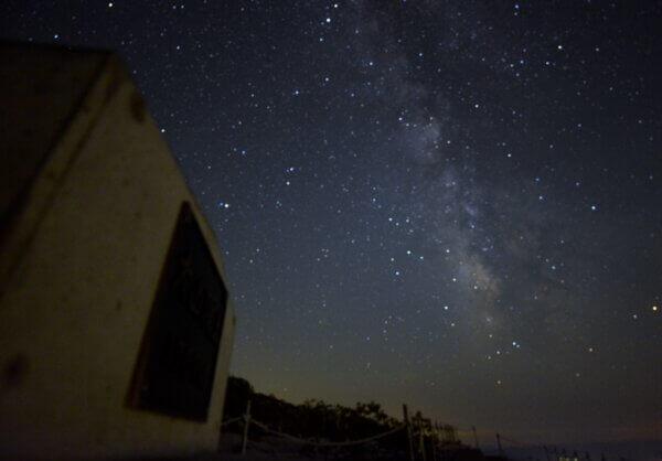 星空が綺麗なのでちょっと山頂までヽ(^o^)丿